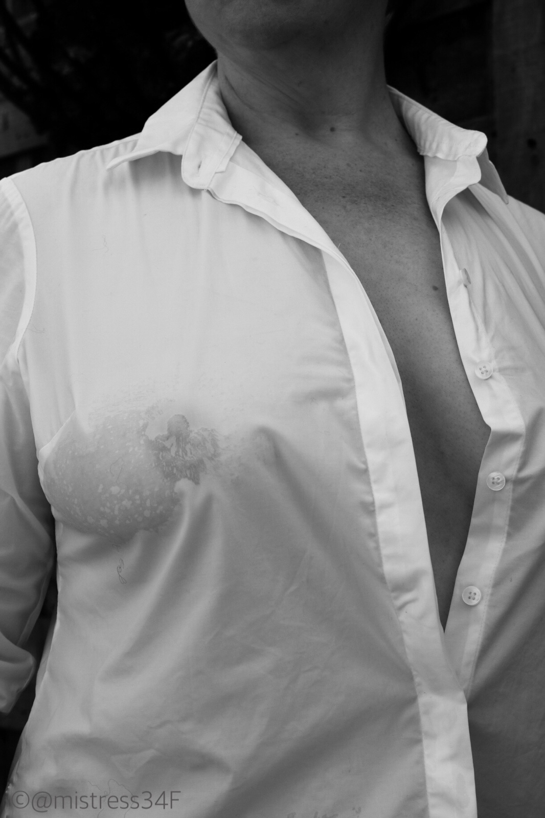 Wet White Shirt