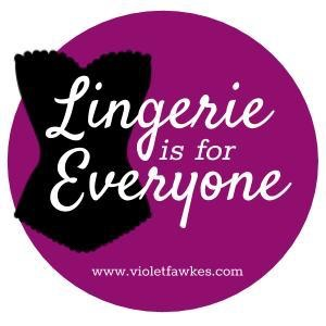 Lingerie Is For Everyone  purple logo