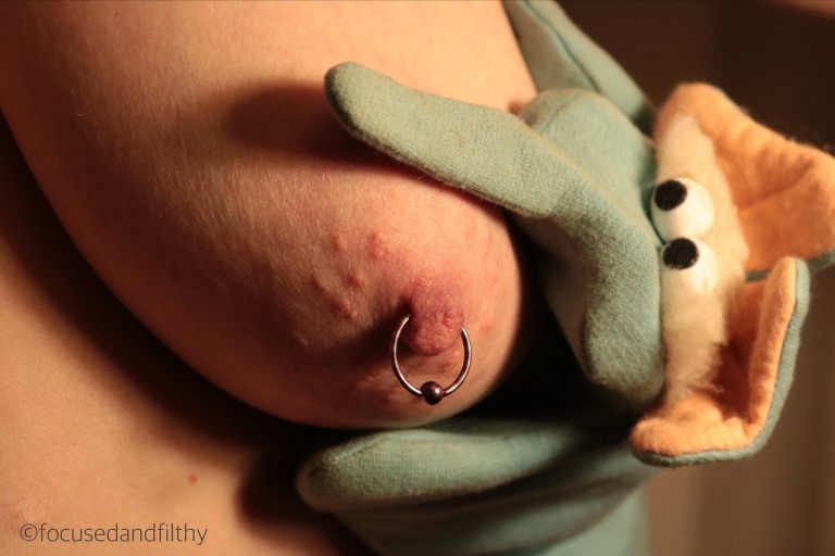 Pink Nipple Ring and Puppet #SJC 102